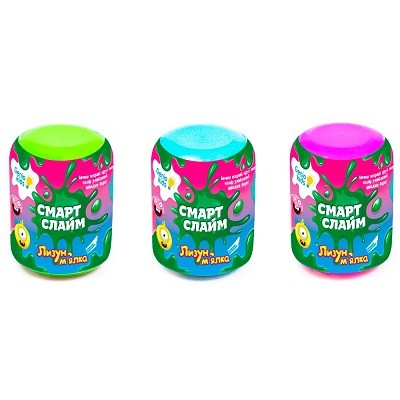 Игрушка Cмарт Cлайм Лизун-мялка Dream Makers SLI03