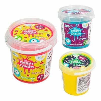 Игрушка Cмарт Cлайм Лизун-мялка Dream Makers SLI02